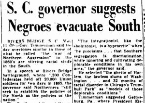 Augusta Chronicle SC Gov says Negros Evacuate