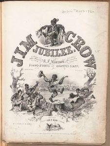 Jim Crow Jubilee poster (Boston Public Library)