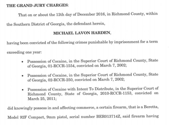 Michael L Hardin indict graphic 2